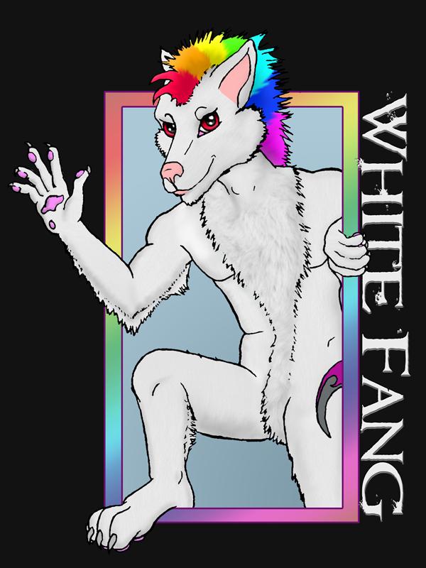 White Fang Badge