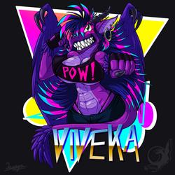 Viveka - 80s Fan Redraw
