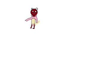 steven squirrel (pink sweater)