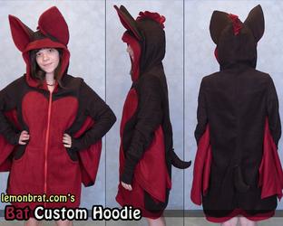 Custom Bat Hoodie