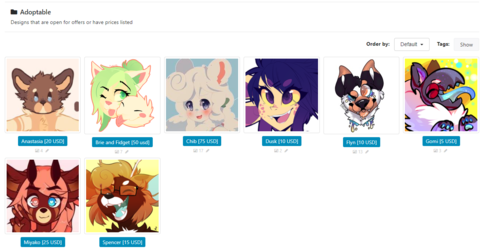 Adopts with Extra Art