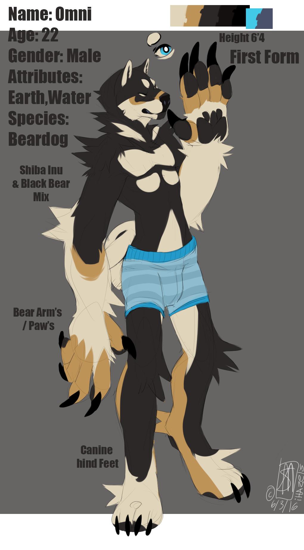 Omni The Beardoge First form!~