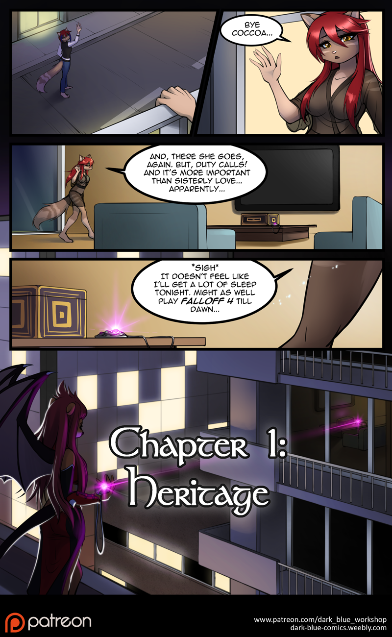 Most recent image: Moonlace Chapter 1 Page 4