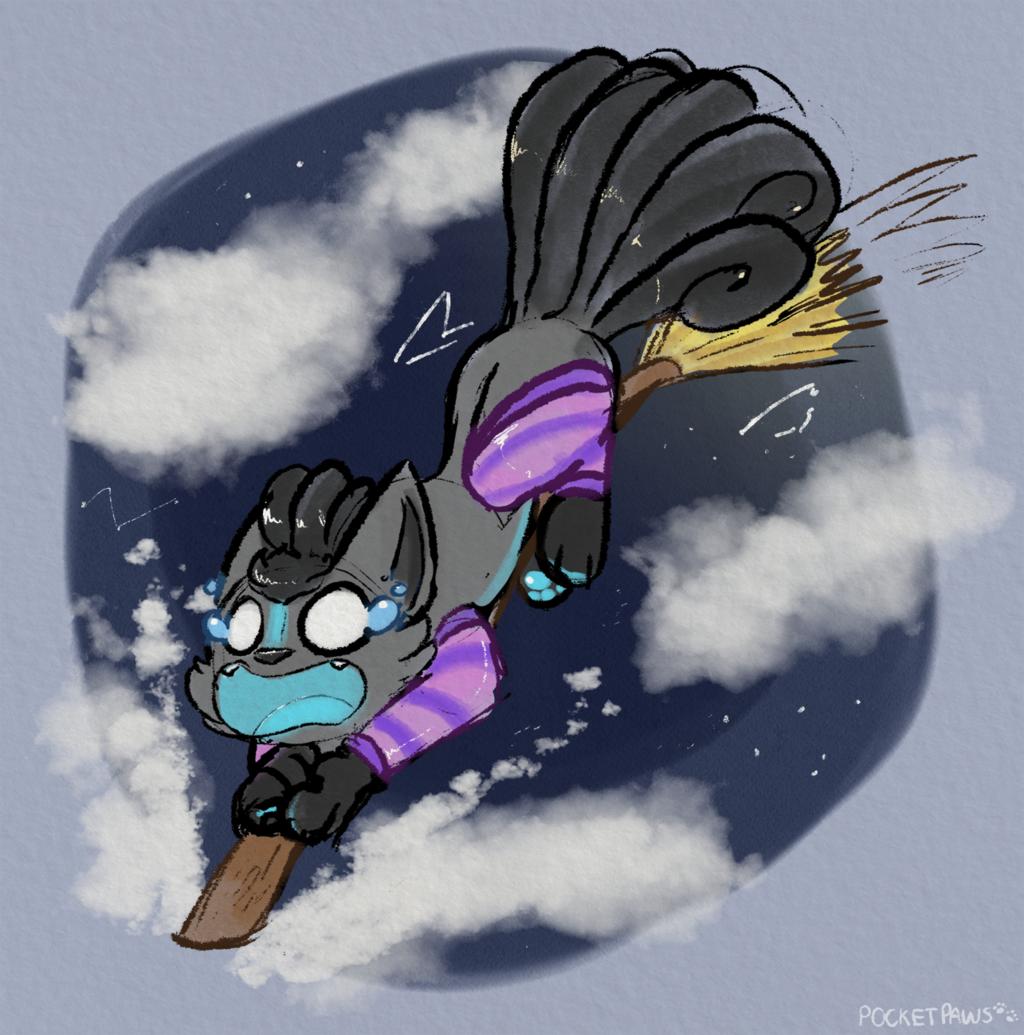 Drawlloween #15 - Broomstick 🧹