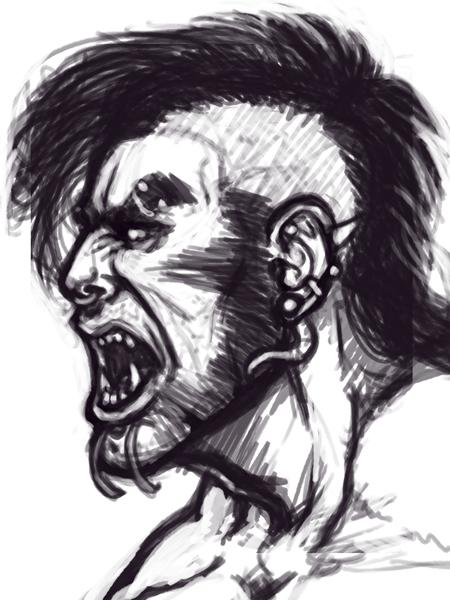 Rage sketch