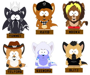 South Park Badges!
