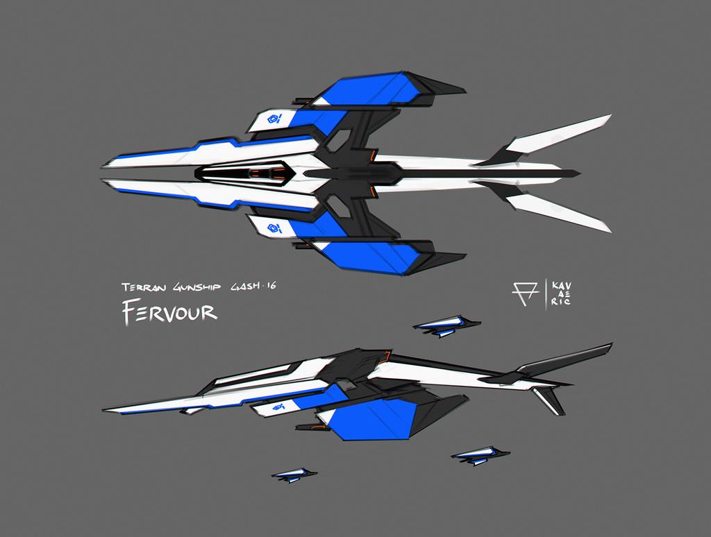 Fervour gunship