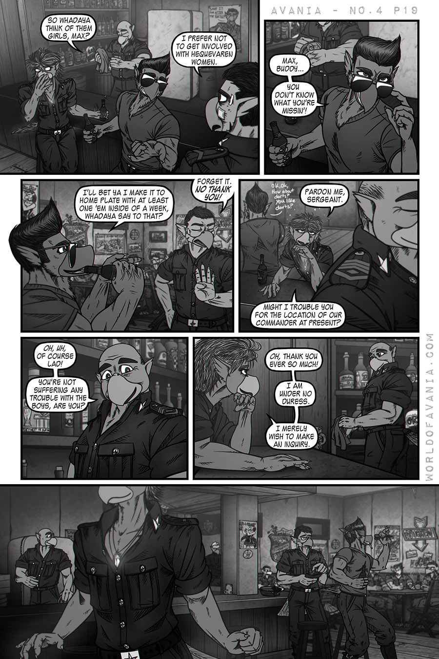 Avania Comic - Issue No.4, Page 19