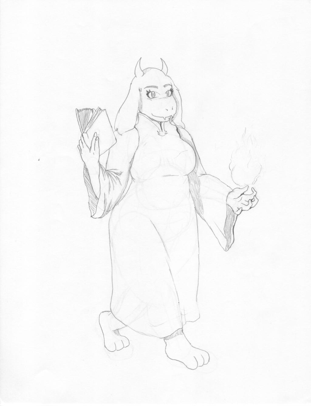 Toriel: Goatmom Extraordinare