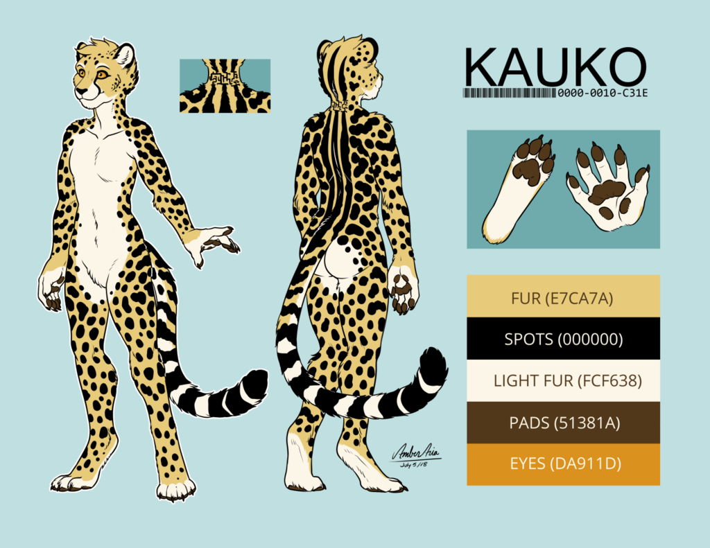 Kauko king cheetah ref v3 [Side B] by Amber-Aria