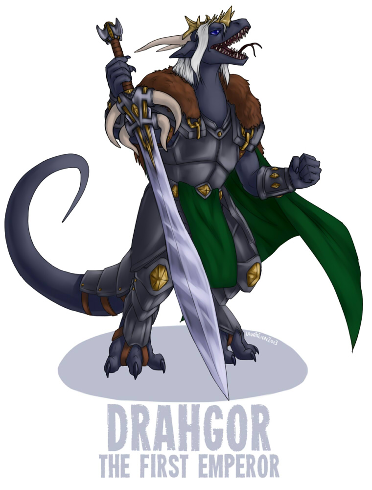 Commission - The Legacy of Drah'Gor (1/5)