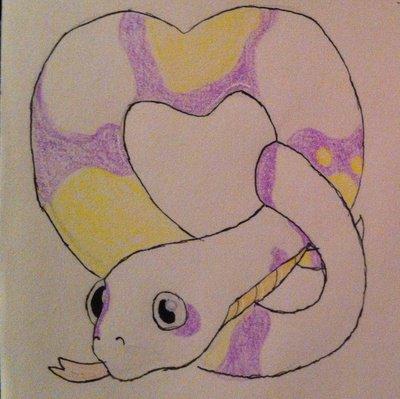 Nebula the snake (gift art)