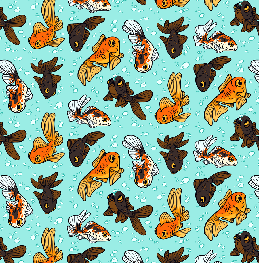 Most recent image: SOMETHING FISHY ABOUT THIS PATTERN