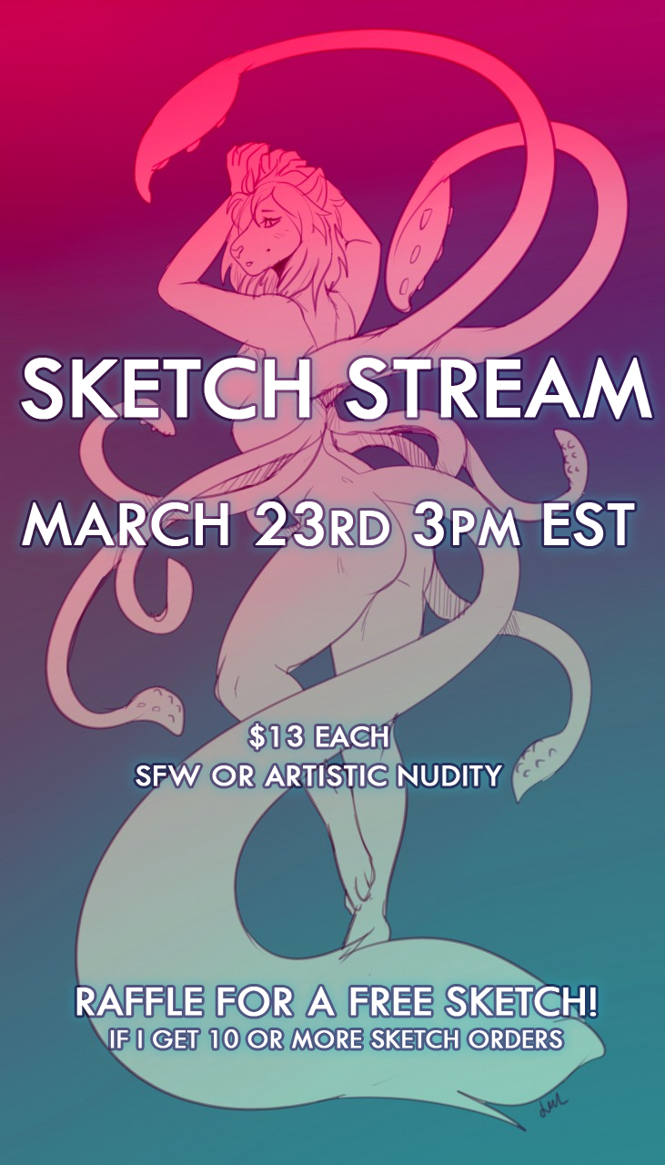 Most recent image: Sketch Stream Friday!