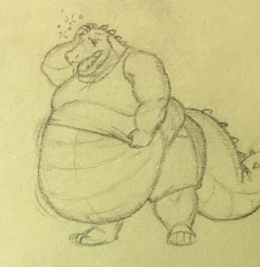 Bigger Croc