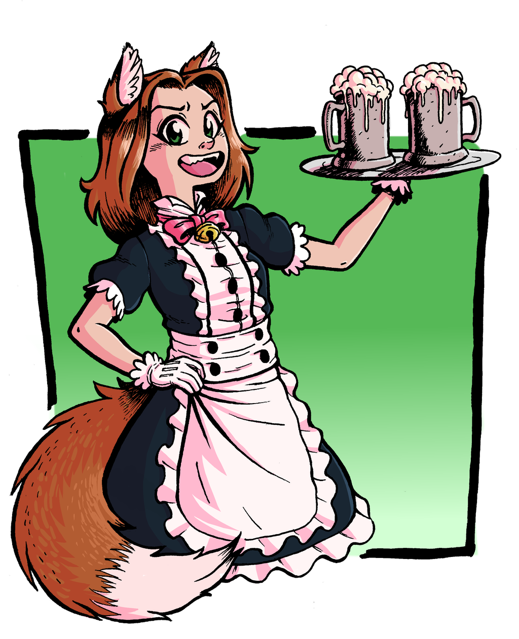 Little Maid Girl 4