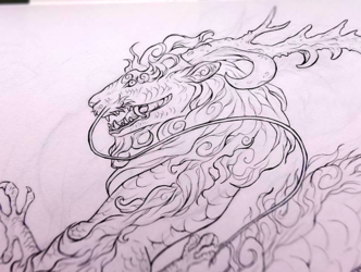 Eastern Dragon wip