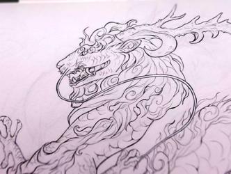 Eastern Dragon wip