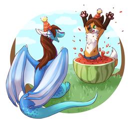 Hatchdaymelon Surprise! [Gift]