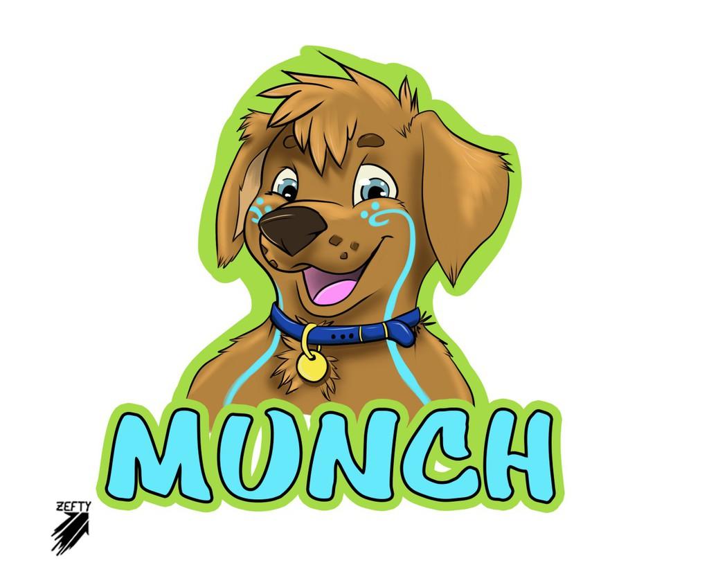 'Munch - Badge'