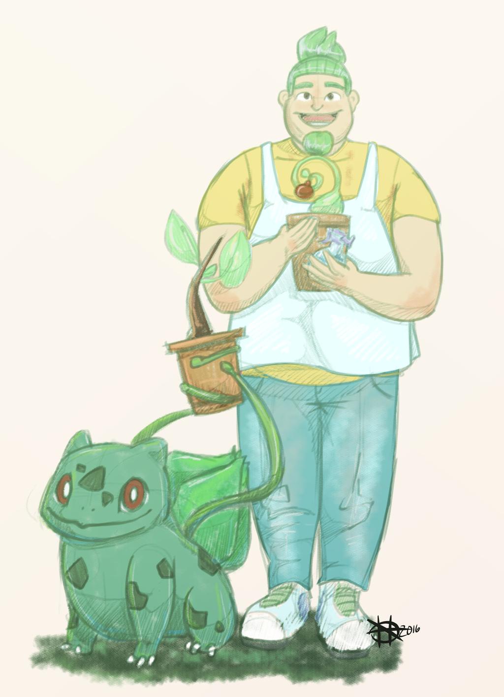 LwP 1 bulbasaur gardener
