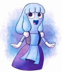 Mina cosplaying as Sapphire