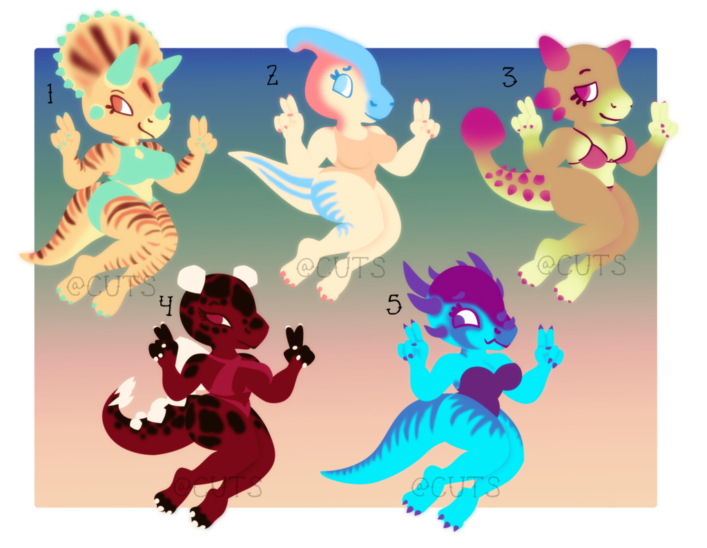 Most recent image: Summer Dino Adopts - OPEN