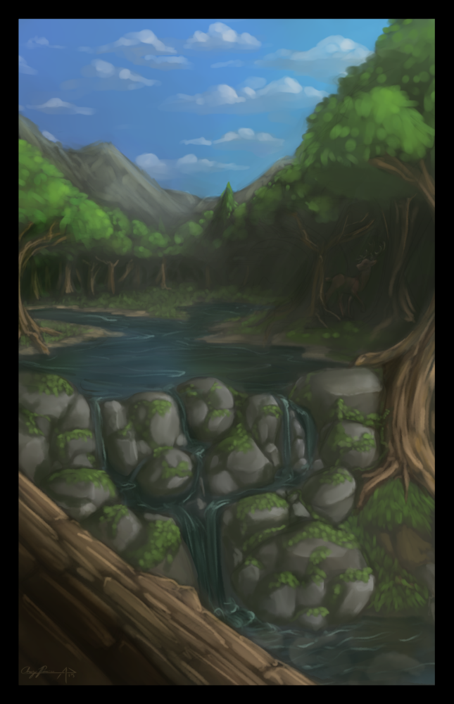 Featured image: The Creek of Youth