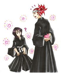 Renji x Rukia Valentines