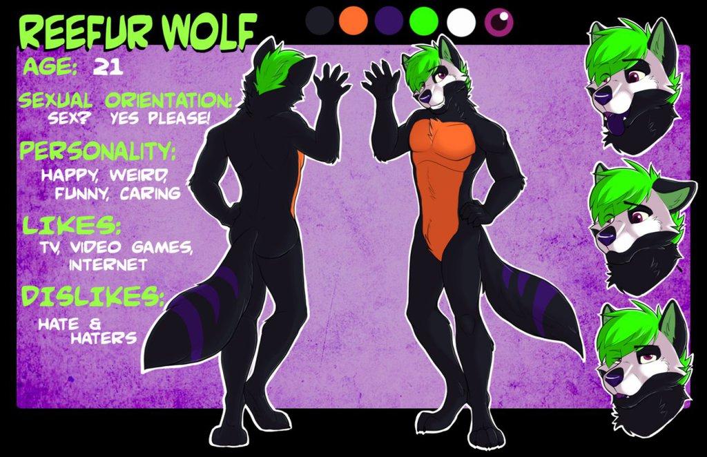 ReeFur Wolf Reference Sheet