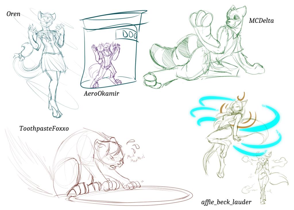 March Sketch Stream: Transformations 1