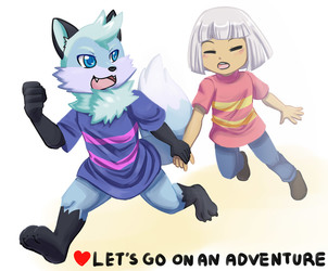 Let's go on an adventure!!