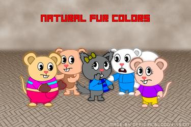 Actual And Natural Fur Colors (Natural Version)