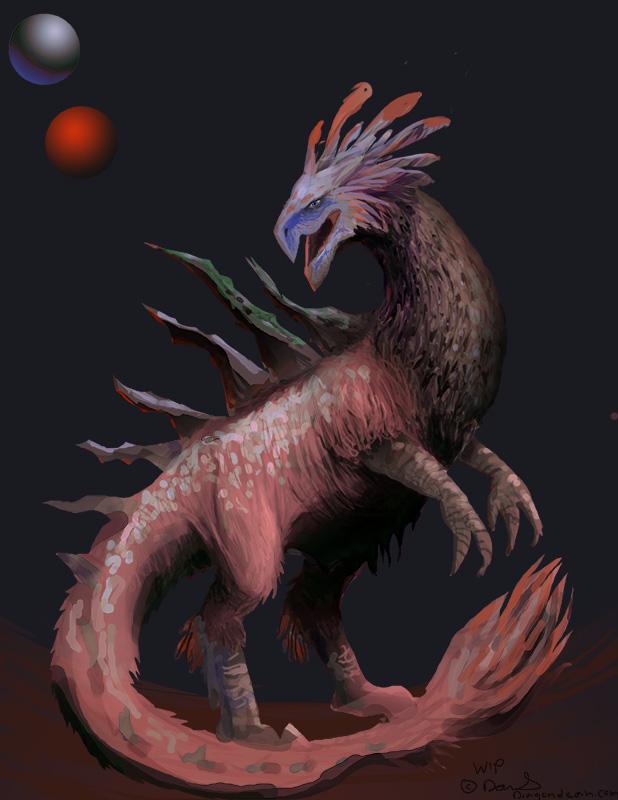 Bird Monster Concept