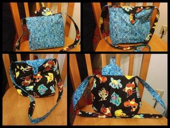 Reversible Pokemon purse