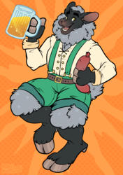Oktoberfest by Muttasaur