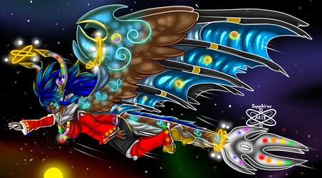 Divine Galaxy Exploration +Sapphirus+
