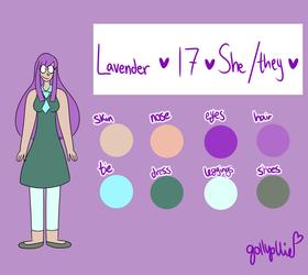 [OC Ref] Lavender