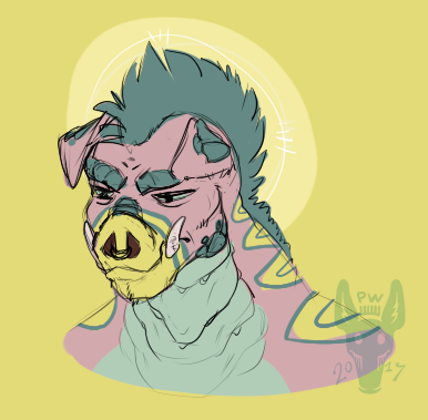 Piggu Portrait