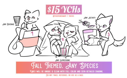 Fall Themed YCH | OPEN!