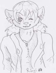 Rinji Sketch Portrait