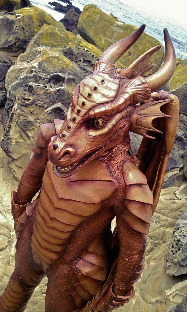 Full Body Latex Dragon Costume Series, installment 8