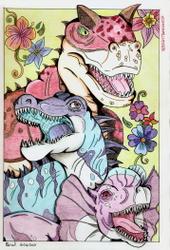 [Gift] Carnivorous Dino pile