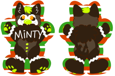 GingerBadge - Minty