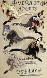 [A] Oviraptor Adopts - 2/5 OPEN