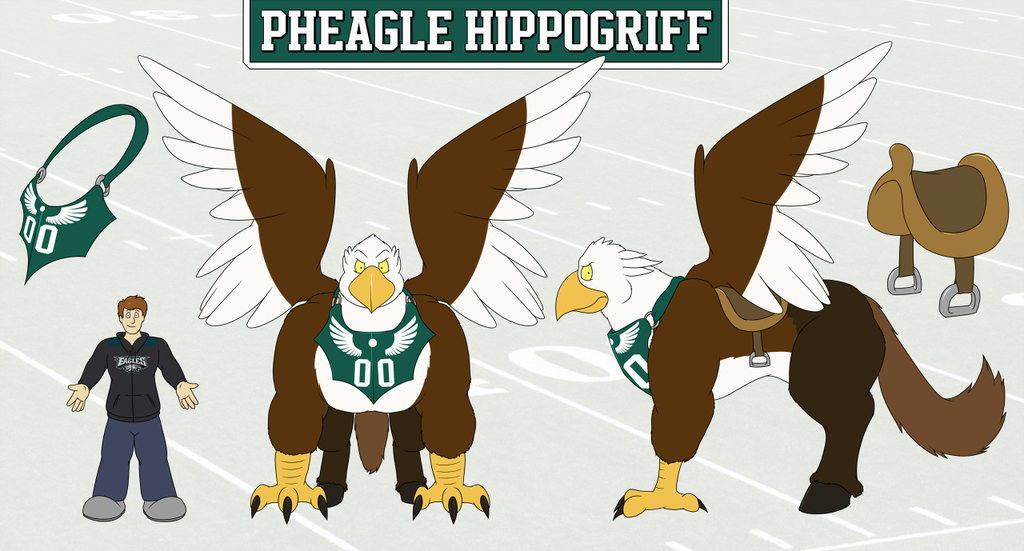 Pheagle Hippogriff - Reference Sheet