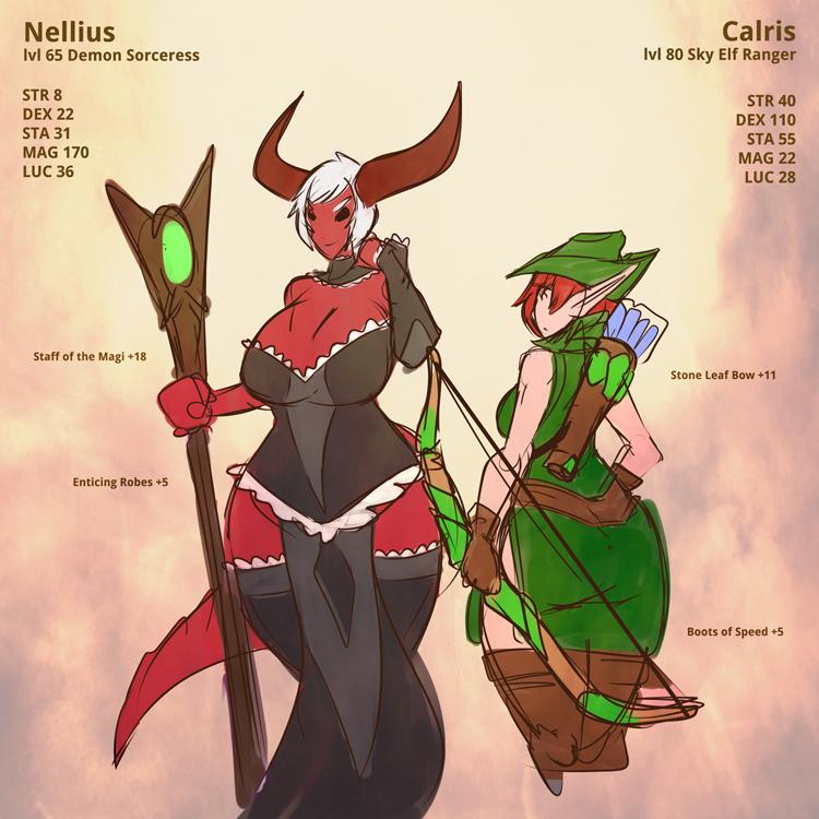 Nellius and Calris