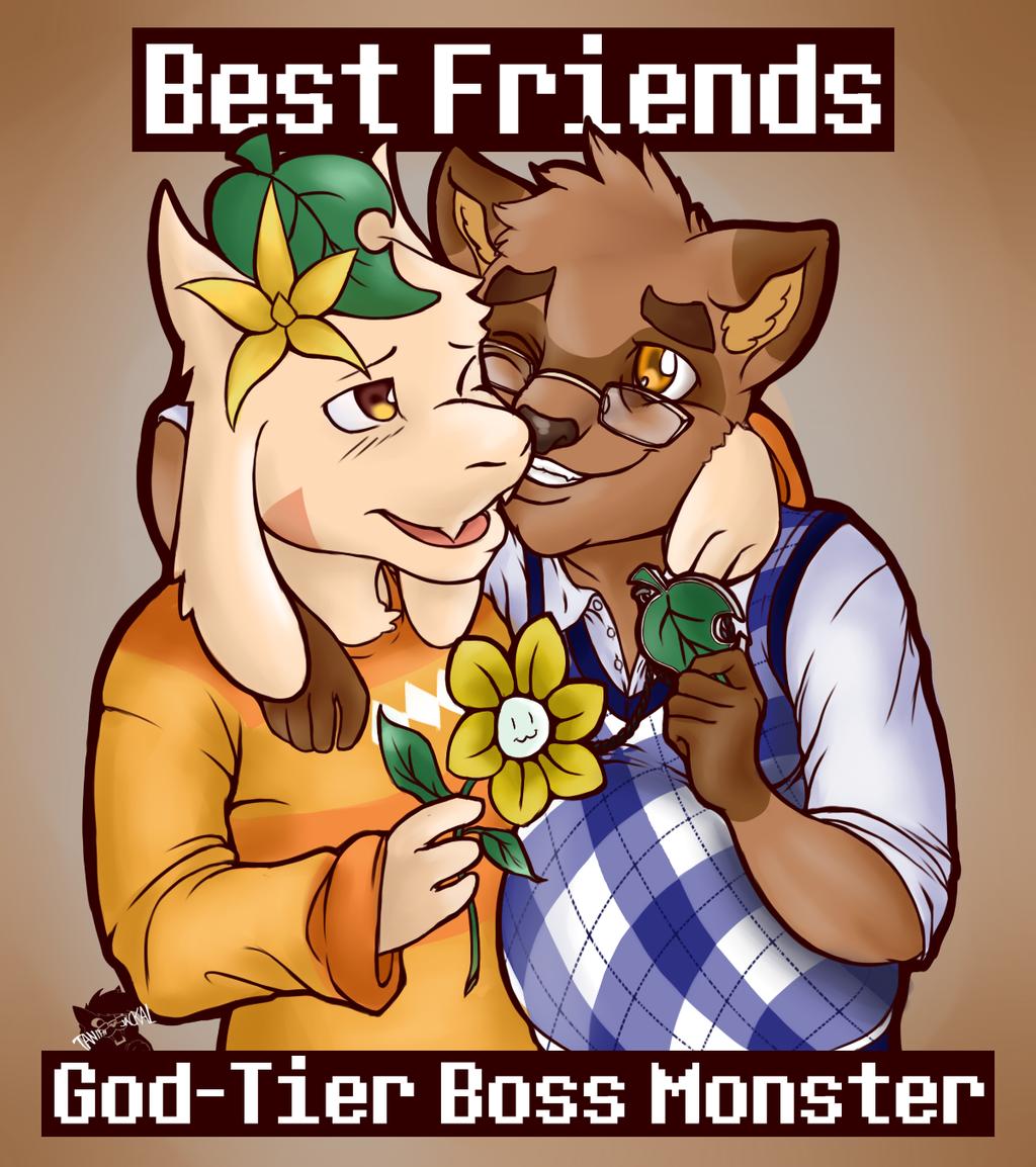 Best Friends    God-Tier Boss Monster