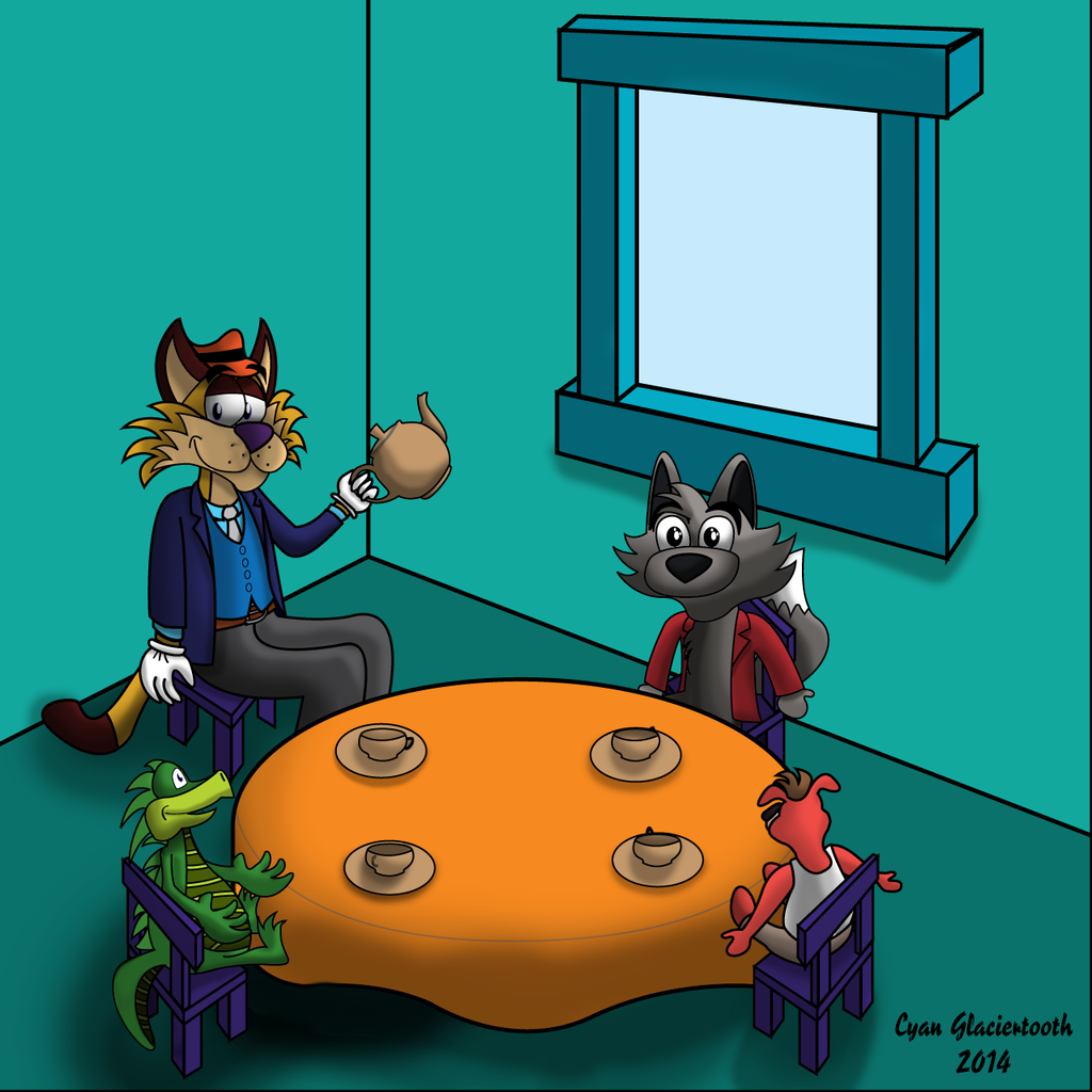 Ralph's Tea Party (Shaded)