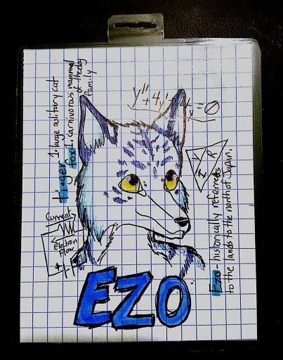 Furry University (FWA 2014) Themed Badge for Ezo!